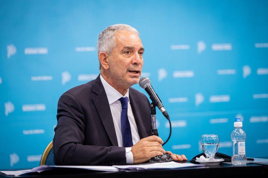 Julio Alak es el ministro de Justicia de la provincia de Buenos Aires.