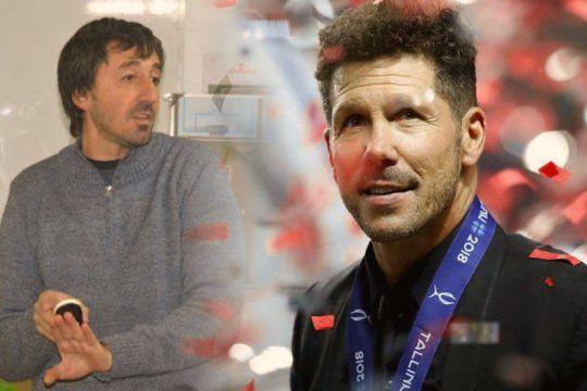 La historia de Hernán Bonvicini: de la Liga Amateur al Atlético del Cholo Simeone