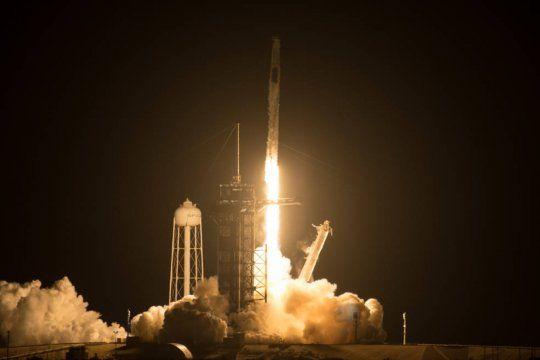 crew-2: asi fue el lanzamiento de spacex y la nasa