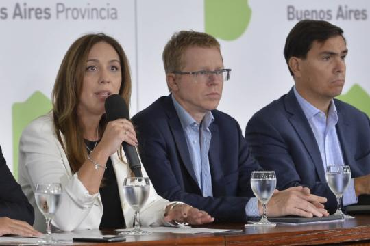 vidal presiona al directorio del bapro para no entregar la provincia en default, pero tiene un plan b