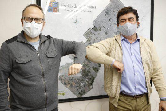 espinoza y valenzuela se reunieron en la matanza y coincidieron en que vienen los dias mas dificiles