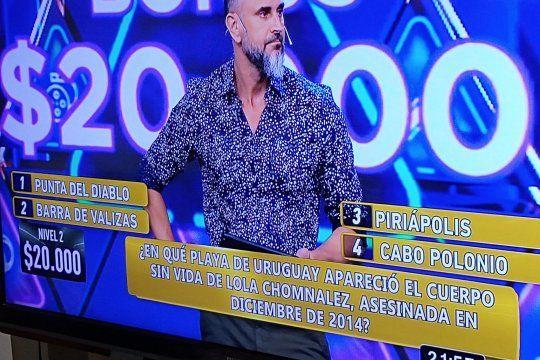 Las preguntas en TV con datos triviales sobre femicidios famosos en Argentina que despertó polémicas