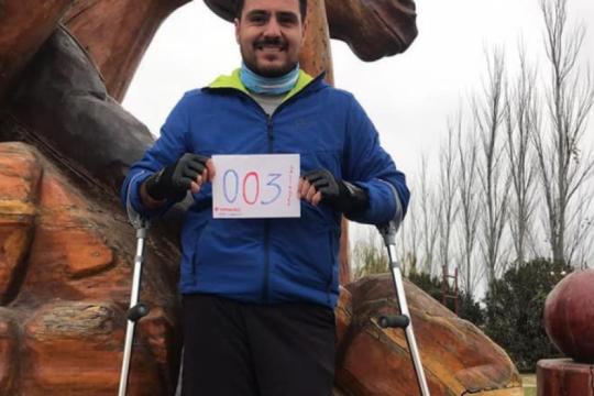 Inclusiva: la maratón virtual de Pellegrini fue un rotundo éxito