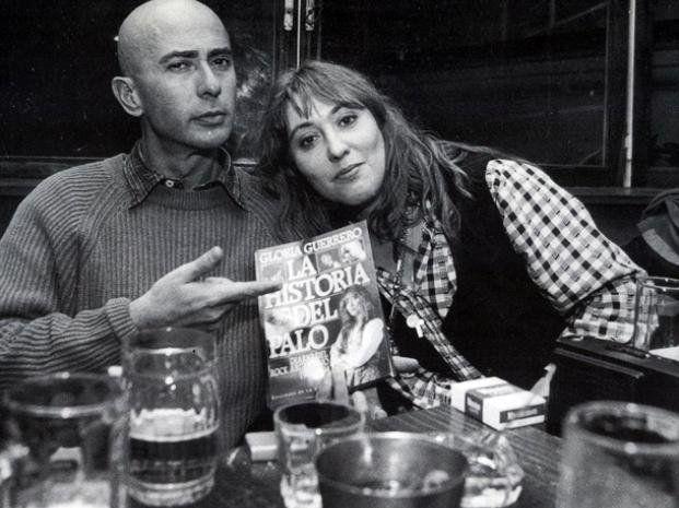 El Indio Solari y Gloria Guerrero. (Indio Solari. El hombre ilustrado)