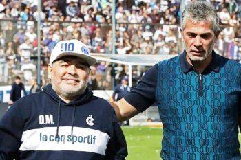 Pellegrino recordó a Maradona y reveló el no de los Mellizos