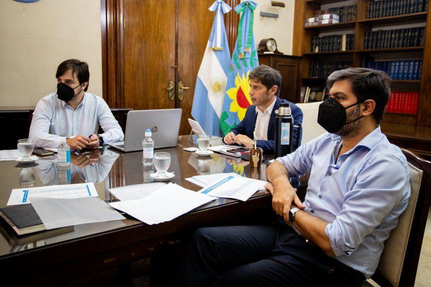 El gobernador Kicillof se prepara para salir de la crisis de gobierno