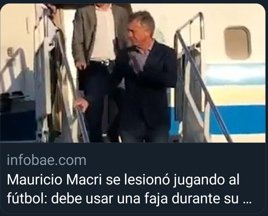 Algunos partidos de fútbol no eran en Olovos sino en Los Abrojos, de allí no hay lista de ingresos peto si testimonios, como cuando Macri se lesionó