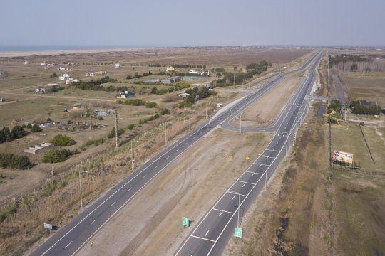 La Provincia habilitó un nuevo tramo de la Ruta 11 tras las obras.