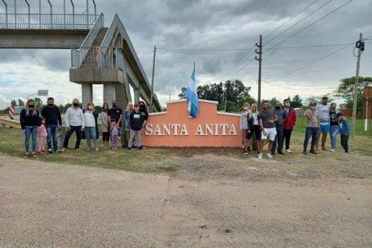 La entradera fue en el Barrio Santa Anita de Cañuelas