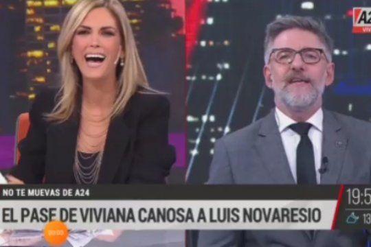 La solidaria costumbre de Viviana Canosa de donar la media que queda de un par cuando pierde una, a los niños pobres que se cruza en la calle