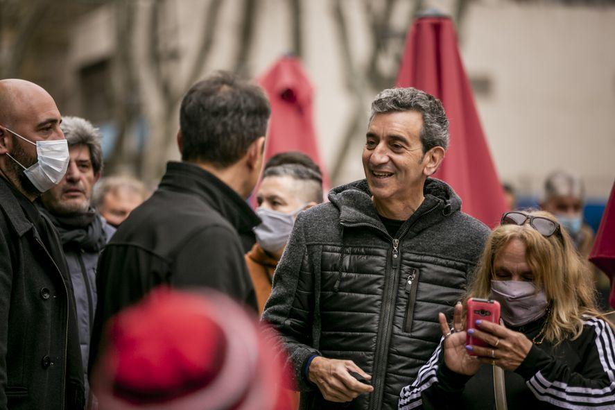 """Florencio Randazzo relanzó su campaña y apuesta a un mensaje de """"tranquilidad"""""""