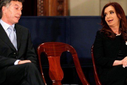 macri sobre cfk: ?cada vez que pronostique algo de lo que iba a hacer la ex presidenta, no acerte?