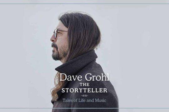 """Dave Grohl decidió publicar su primer libro, bajo el nombre """"The Storyteller: Tales of Life and Music""""."""