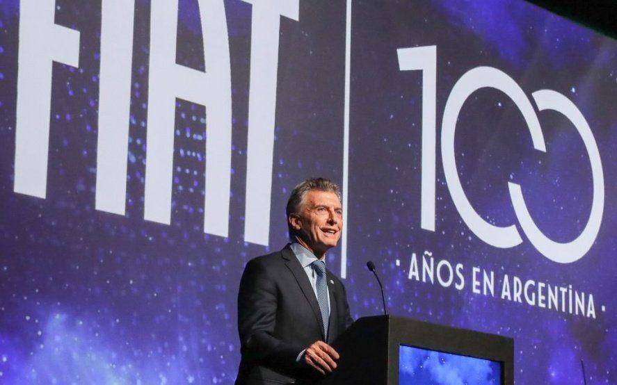 A pesar de la crisis del sector, Macri aseguró que el país tiene una industria de calidad