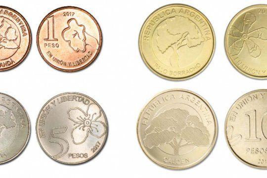 con la despedida del de $5, como queda la familia de billetes y monedas vigentes
