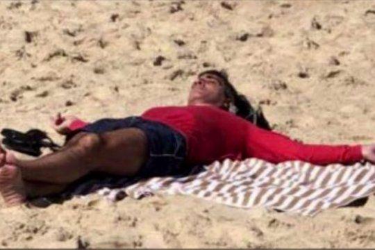 panza para arriba: el dolar se prendia fuego y caputo tomaba sol en las playas de rio de janeiro