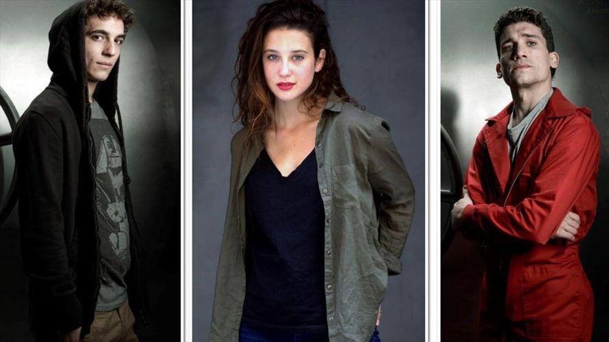 María Pedraza, Jaime Lorente y Miguel Herrán compartieron dos proyectos de Netflix