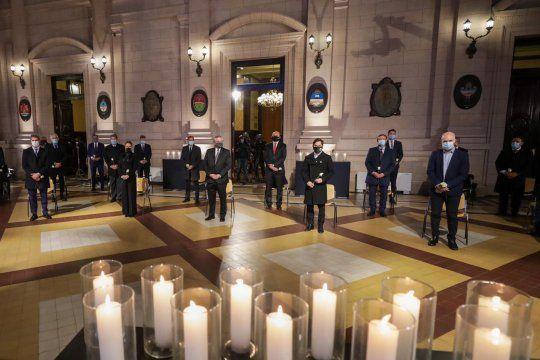 """""""Es importante que toda la Argentina pueda encontrarse en unmomento de unión y de memoria, dijo Alberto Fernández."""