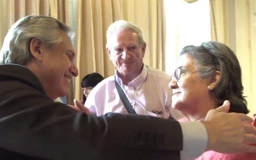 Alberto Fernández rechazó la idea de un ajuste a los jubilados y se valió de un informe