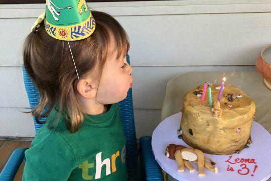 La niña que pidió una torta con la muerte de Mufasa