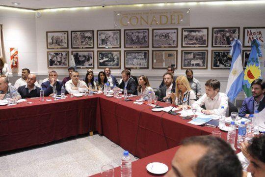 kicillof mando a sus ministros a explicar las emergencias y espera tener la sancion manana