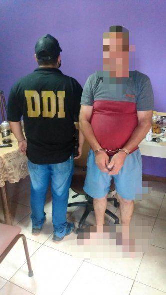 El hombre acusado de violar a su expareja cayó en un allanamiento