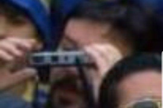 El autor de la foto más buscada de Carlin y Diego apareció... ¿La tendrá?