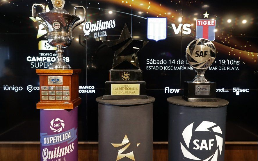 Trofeo de Campeones: Conocé todos los detalles de la final entre Racing y Tigre que se viene en Mar del Plata