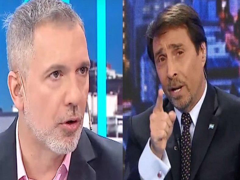 Duggan lapidario con Feinmann: Vos sos un abusador sexual