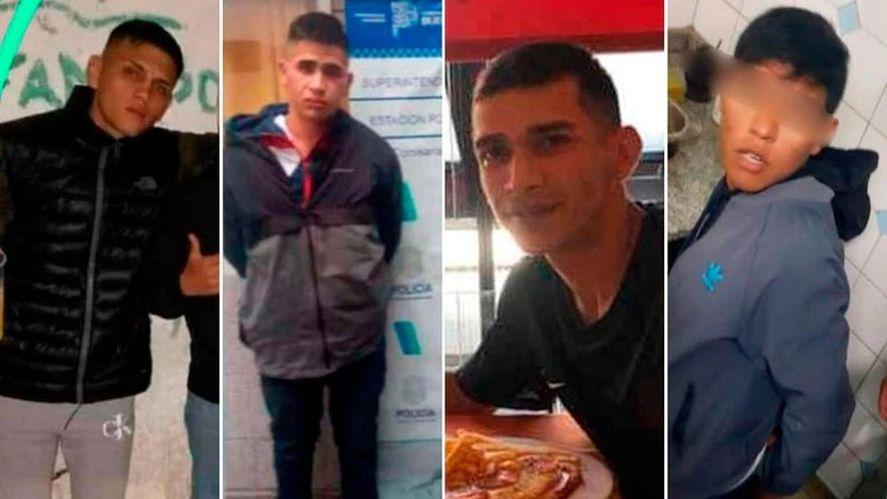 Los cuatro detenidos por el crimen del policía en Caseros