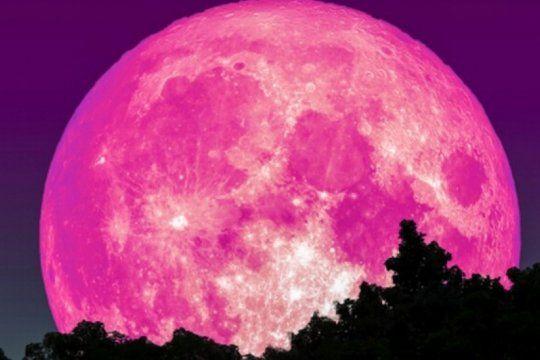 mira cuando seran la superluna rosa de abril y otros fenomenos para observar en cuarentena
