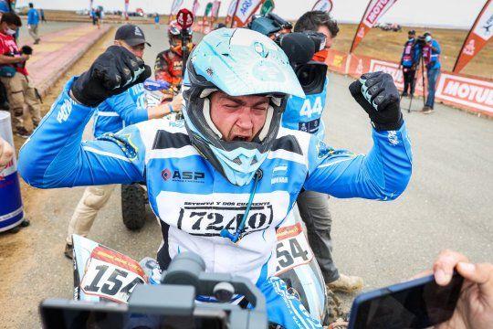 Dakar 2021: el lobense Andújar campeón en cuatriciclo