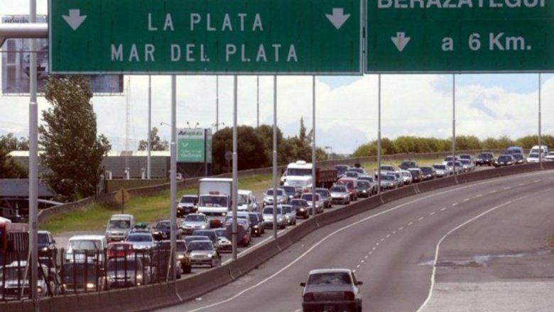 Obras en la autopista La Plata- Buenos Aires: qué caminos alternativos se podrán tomar
