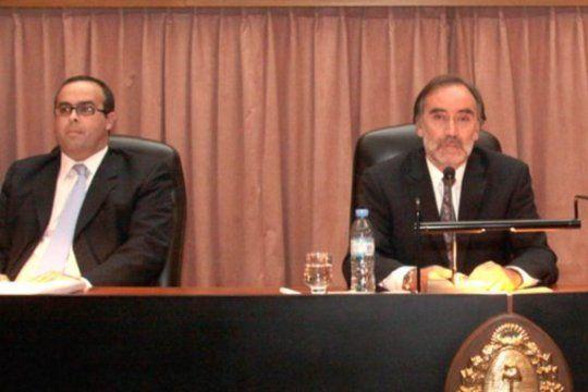 Pablo Bertuzzi (izquierda) y Leopoldo Bruglia (derecha), solicitaron un recurso per saltum que mañana tratará de manera extraordinaria la Corte Suprema de Justicia.