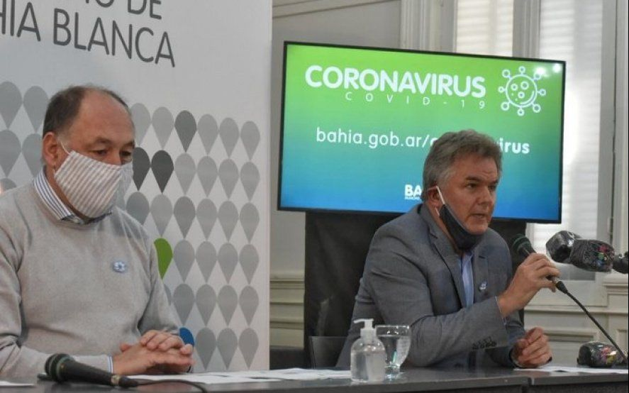 Un periodista de Bahía Blanca dio positivo por Covid-19 y el intendente Gay decidió aislarse por prevención