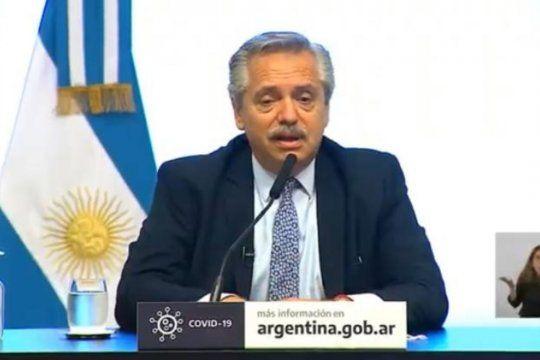 Alberto Fernández presentó inversiones para la Provincia