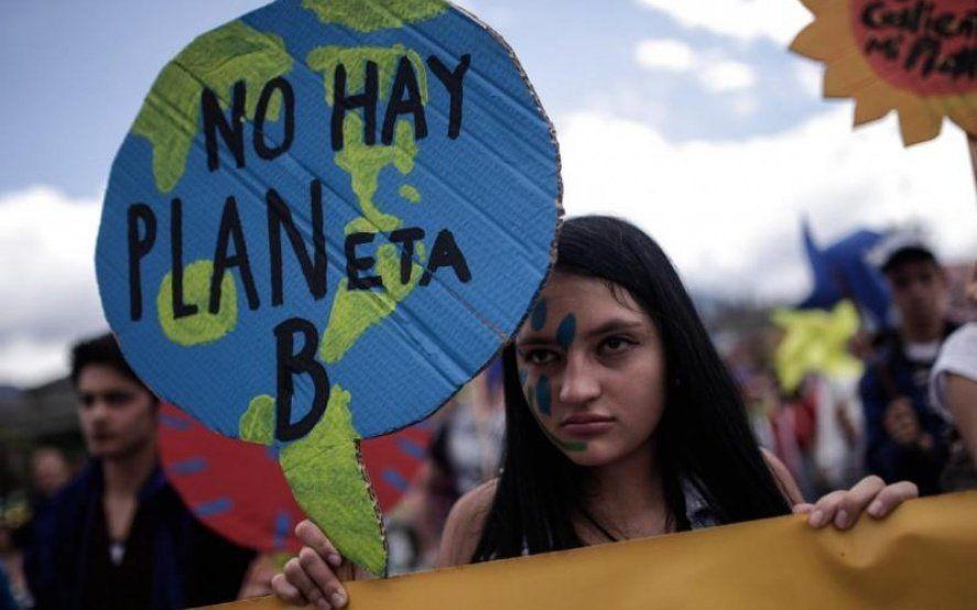 Paro global por el futuro: jóvenes de todo el mundo marchan contra el cambio climático