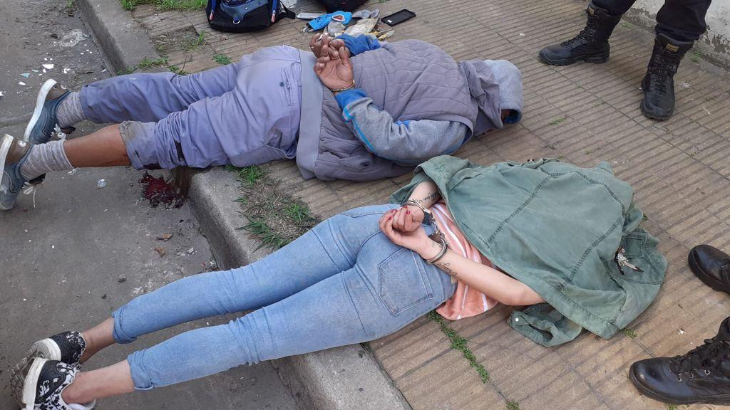 La entradera ocurrió en la calle Buenos Aires al 2.629 de Ciudadela