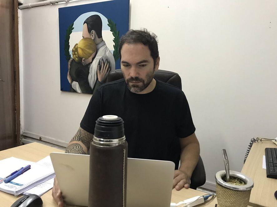 Político y escritor: Matías Molle publicó su primera novela