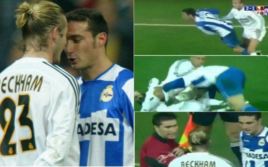 Técnico temperamental: El día que Scaloni se peleó con medio Real Madrid