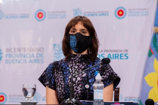 La ministra de trabajo, Mara Ruiz Malec.