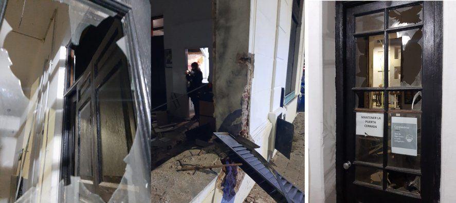El Juzgado Federal N°2 de Bahía Blanca llevará la causa por el presunto atentado a la sede de La Cámpora.