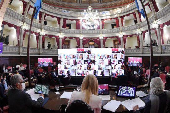 la ley de victimas divide aguas pero logra avanzar en el senado bonaerense