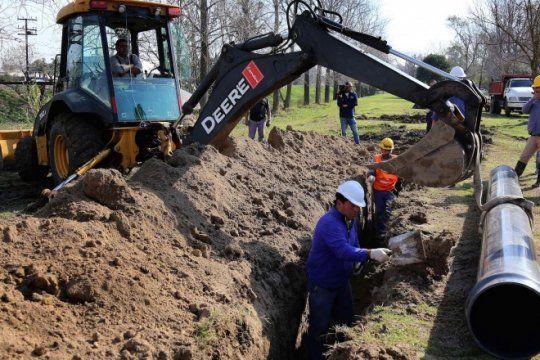estiman que estara lista en mayo la obra para abastecer de agua potable a gonnet