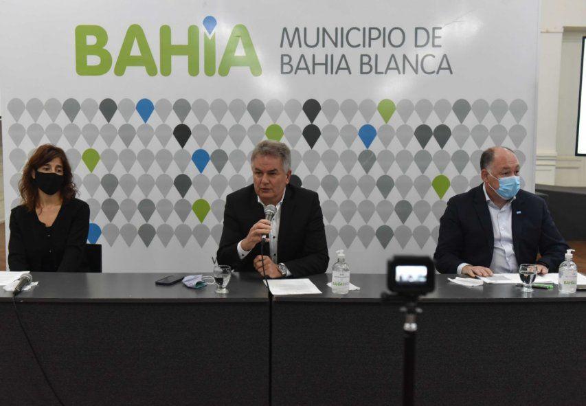 El intendente de Bahía Blanca