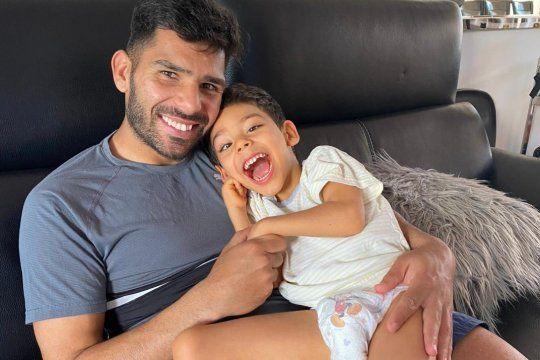 Silvio Romero y su hijo Mateo: una historia que va más allá de los goles.