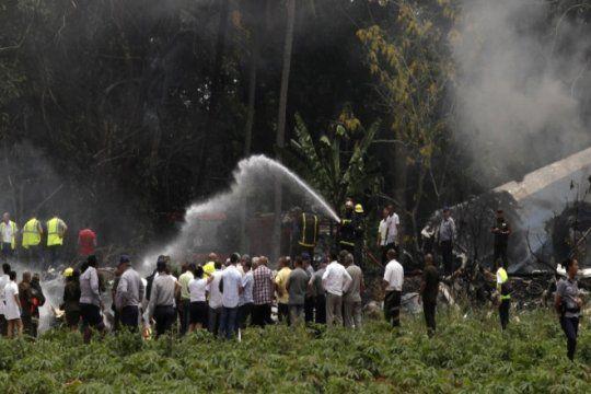 se estrello un avion donde viajaban 110 personas en la habana, entre las victimas hay dos bonaerenses