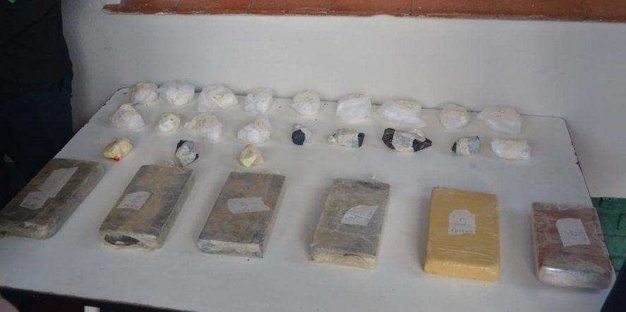 Olavarría: hallan más de 7 kilos de cocaína en una cochera