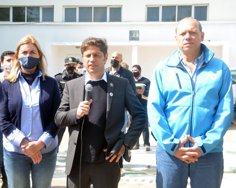 Desde Olavarría, Axel Kicillof se refirió al escenario electoral de noviembre
