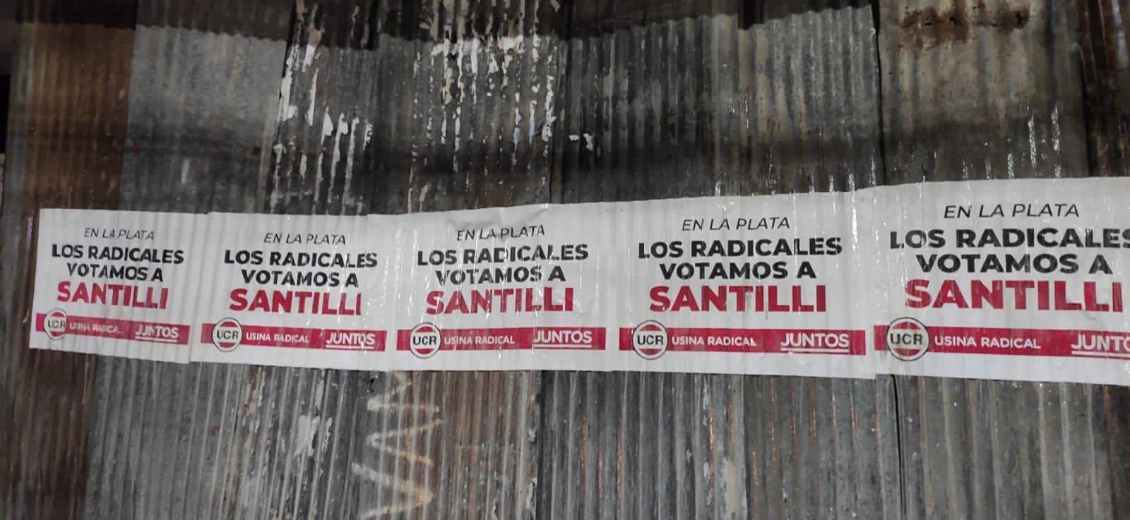 Un sector del radicalismo salió a apoyar a Santilli en La Plata